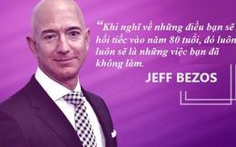Tỷ phú giàu nhất thế giới Jeff Bezos: Khi 80 tuổi, tôi chắc chắn sẽ không hối hận vì những gì đã thử trong đời