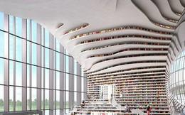 """Choáng ngợp với vẻ đẹp của thư viện """"quốc dân"""" lớn nhất Trung Quốc: Hoành tráng đến mức nhìn không thua gì phim trường!"""