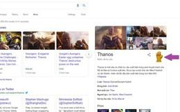 Google Tìm kiếm đã có Găng tay Vô cực cho bạn thử: Chỉ cần gõ Thanos là ra, làm luôn đi