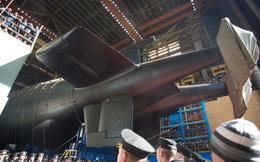 Nga hạ thuỷ tàu ngầm lớn nhất thế giới mang theo siêu ngư lôi Poseidon