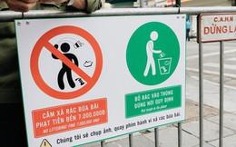 Phố đi bộ Hồ Gươm đặt biển cảnh báo và camera ghi hình, phạt 7 triệu đồng hành vi xả rác: Người dân hoàn toàn ủng hộ
