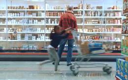 Ford giới thiệu xe đẩy hàng thông minh trong siêu thị: Có thể tự phanh, tránh trường hợp trẻ nghịch ngợm làm xe đua