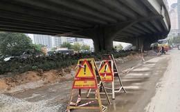 Nhiều tuyến phố lớn Hà Nội tiếp tục xén dải phân cách