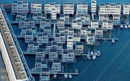 Chiêm ngưỡng cả trăm ngôi nhà được xây nổi trên mặt nước: Quần thể kiến trúc đáng tự hào của Amsterdam