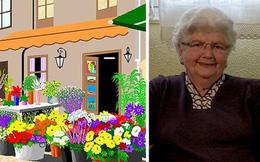 Cụ bà 88 tuổi trở thành ngôi sao internet vì khả năng vẽ tranh tuyệt đẹp bằng MS Paint