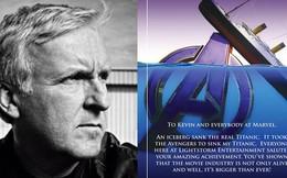 """Đạo diễn James Cameron gửi lời chúc mừng Marvel: """"Avengers đã đánh chìm Titanic của tôi rồi"""""""
