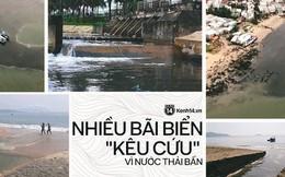 """Hàng loạt bãi biển nổi tiếng tại Việt Nam """"kêu cứu"""" vì dòng nước thải bẩn xả thẳng từ các hệ thống cống thoát nước"""