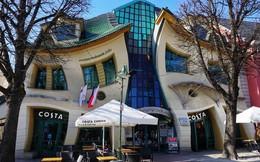 Đây là Krzywy Domek - Toà nhà tại Ba Lan có thiết kế xiêu vẹo, nhìn vào như đang bị ảo giác