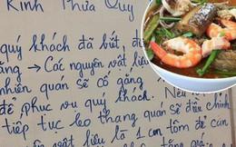 """Giữa tình hình giá xăng điện tăng cao, 1 quán bún mắm ở Sài Gòn đăng thông báo """"xin bớt 1 con tôm trong tô bún"""" để giữ nguyên giá gây xôn xao"""