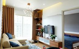 Căn hộ 78m² với 3 phòng ngủ có chi phí thi công 262 triệu đồng ở Long Biên, Hà Nội