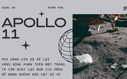 Phi hành gia đã để lại hàng đống phân trên Mặt Trăng và lần tới, chúng ta sẽ phải lên đó mang chúng về