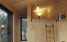 Độc đáo với cabin 22m2 có 2 phòng ngủ riêng biệt