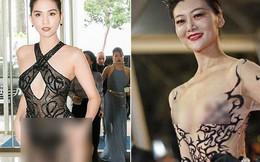 """Nhìn lại tuyển tập trang phục """"trắc nết"""" nhất Cannes, cuối cùng cũng tìm ra đối thủ xứng tầm với Ngọc Trinh"""