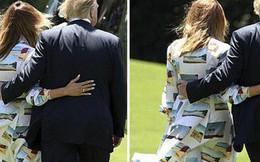 """Hết thời bị vợ phũ phàng hất tay, Tổng thống Trump gây sốt với loạt khoảnh khắc """"tình bể bình"""" cùng bạn đời trong chuyến thăm Nhật Bản"""