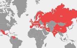 Trong 5 ngày, Mỹ 'gây chiến' với 36 quốc gia