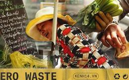 """Gặp cô bán rau vui tính ở Sài Gòn với tấm bảng """"không bán túi nilon"""": Nhiều khách bảo cô làm trò xàm xí!"""