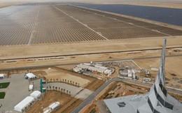 Giữa sa mạc Dubai, người ta sắp sửa hoàn thiện công viên năng lượng Mặt Trời khổng lồ có thể xô đổ mọi thứ kỷ lục