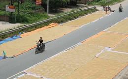 """Cận cảnh đường dẫn lên cây cầu đẹp nhất Việt Nam bị người dân Hà Nội """"hô biến"""" thành nơi phơi thóc"""