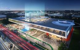 Uber trình làng thiết kế bãi đỗ mới đầy chất tương lai cho dịch vụ taxi bay Uber Air