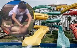 Công viên nước Thanh Hà vừa bị đình chỉ hoạt động vài tiếng thì xảy ra sự cố bé trai đuối nước