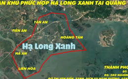 Quảng Ninh: Khu đô thị phức hợp 7 tỷ USD phải chờ Thủ tướng phê duyệt