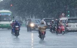Chiều tối và đêm nay xuất hiện đợt mưa kéo dài ở Bắc Bộ