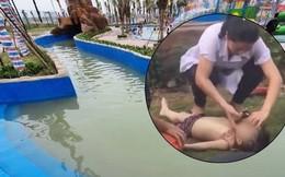 Bé trai 3 tuổi bị đuối nước tại Công viên nước Thanh Hà đã tử vong