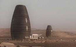 Đây là thiết kế nhà ở trên Sao Hỏa được NASA thưởng 500.000 USD: 4 tầng đầy đủ tiện nghi, chống bức xạ, in 3D bằng robot