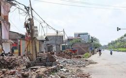 Hà Nội: 8 năm thi công không xong một tuyến đường dài 2,3km