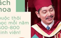 Phó Hiệu trưởng ĐH Bách khoa: Mỗi năm trường đuổi 600-800 em, tân sinh viên không quen việc vừa nghe giảng vừa chép kín 6 cái bảng trong 3 tiếng!