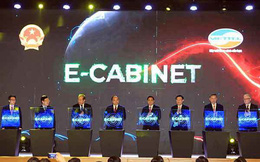 Phiên họp 10 phút đầu tiên của Chính phủ qua hệ thống e-Cabinet