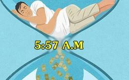 Tại sao đồng hồ báo thức của hàng trăm người thành công trên thế giới đều đặt vào 5:57 SÁNG?
