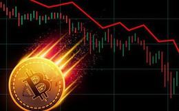 """""""Xoá nhoà"""" toàn bộ đà tăng, bitcoin rớt xuống còn hơn 10.000 USD"""