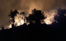 Đang cháy dữ dội rừng thông tại Hà Tĩnh, khẩn cấp di dời hơn 80 hộ dân