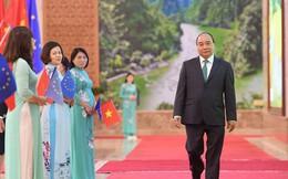 Những khoảnh khắc ấn tượng trong lễ ký kết lịch sử giữa Việt Nam và EU