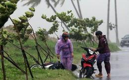 Bão số 2 đang gây gió mạnh cấp 8, sóng cao 1m và bắt đầu có mưa trên biển Hải Phòng