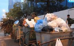 Clip: Nhiều khu vực trung tâm Hà Nội bốc mùi hôi nồng nặc sau 4 ngày dân chặn xe vào bãi rác Nam Sơn
