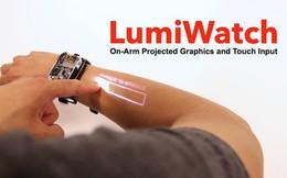 Chiếc đồng hồ nhỏ này sẽ biến da tay bạn thành một màn hình cảm ứng thứ thiệt