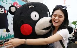 Chú gấu tỷ USD Kumamon của Nhật Bản vươn ra biển lớn