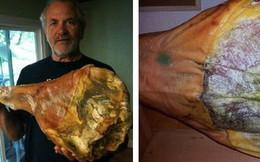 Treo đùi lợn trên núi hơn 1 năm cho mốc meo rồi gọi nó là báu vật ẩm thực, chắc cũng chỉ có người Tây Ban Nha