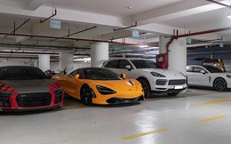 """Chiêm ngưỡng """"garage"""" triệu USD của doanh nhân Nguyễn Quốc Cường đỗ trong một chung cư ở Sài Gòn"""