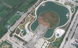 Cận cảnh công viên âm nhạc 200 tỷ đồng được thiết kế hình cây đàn sắp khai trương ở Hà Nội