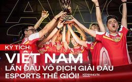 Kỳ tích: Đội tuyển Việt Nam (Team Flash) đánh bại đối thủ mạnh nhất thế giới, đăng quang ngôi vô địch AWC 2019, rinh giải thưởng 4,6 tỉ đồng