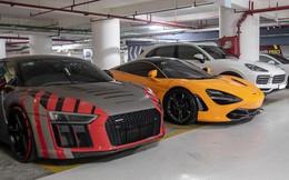 Chiêm ngưỡng 'garage' triệu USD của doanh nhân Nguyễn Quốc Cường đỗ trong một chung cư ở Sài Gòn