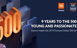 Xiaomi lọt vào top 500 ty có doanh thu cao nhất toàn cầu