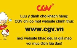 Manh mối kẻ giả mạo website CGV Việt Nam đã được tìm ra: Page cũ mất xong có ngay page lừa đảo mới
