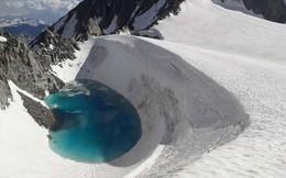 Phát hiện một hồ nước mới hình thành ở độ cao 3.400 mét trên dãy Alps, tình hình biến đổi khí hậu đang ngày càng trầm trọng