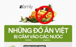 """Nhiều món ăn khi ở Việt Nam được coi là """"quốc hồn quốc túy"""" nhưng mang sang nước khác lại bị phạt nặng"""