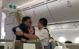 """Đại gia bất động sản nghi sàm sỡ khách nữ còn """"sờ"""" vào cả tiếp viên trưởng Vietnam Airlines"""