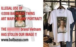 Ngay sau lùm xùm với Trương Thế Vinh, shop thời trang lại bị brand thiết kế nước ngoài tố sử dụng hình ảnh trái phép